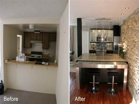 cheap kitchen remodel ideas before and after home remodeling small kitchen remodel before and after
