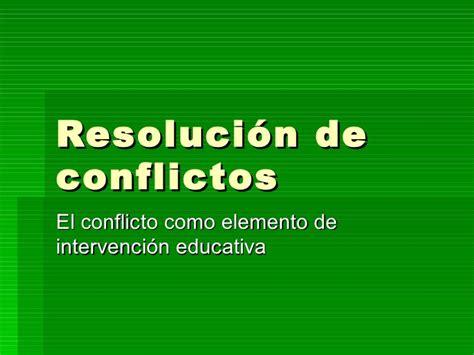 resolucion de intendencia nacional n resoluci 243 n de conflictos