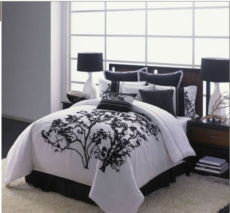 black and white tree bedding beautiful black and white tree bedding decor pinterest