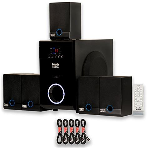 Home Sound System Reviews by Review Acoustic Audio Aa5817 Home Theater 5 1