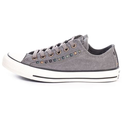 Converse Grey White buy cheap grey chuck taylors womens black and white