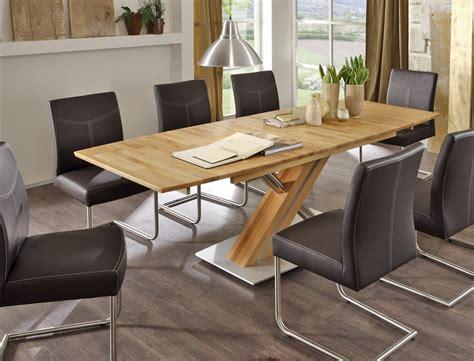 modern glass esszimmertisch hochwertiger s 228 ulentisch esstisch ausziehbar bootsform