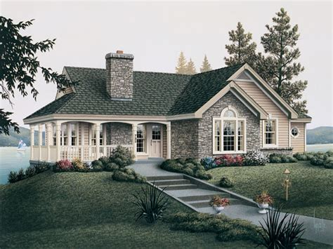 country cottage house plans with porches country