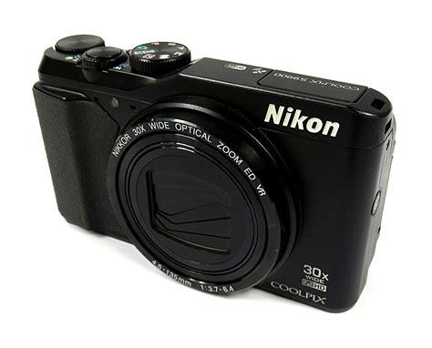 nikon coolpix s9900 16 7mp wifi gps x30 opt zoom s n 40009089 black ebay