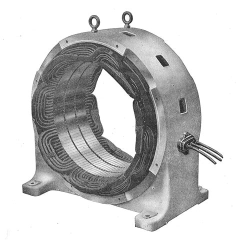 induction motor in wiki file stator of induction motor rankin kennedy electrical installations vol ii 1909 jpg