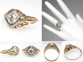 antique gold wedding rings beautiful collections of vintage yellow gold wedding rings