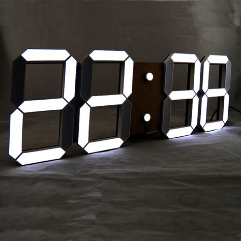modern digital wall clock box storage picture more detailed picture
