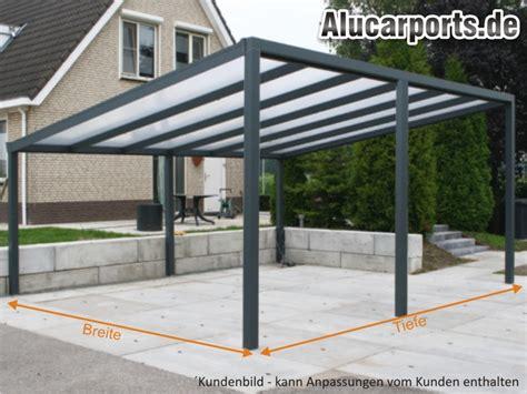 Pavillon Bausatz Alu by Pultdach Doppelcarport Aus Alu Typ G Gef 228 Lle Zur Seite