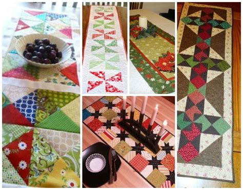 Quilt Recipes by Quilt Table Runner Patterns And Easy