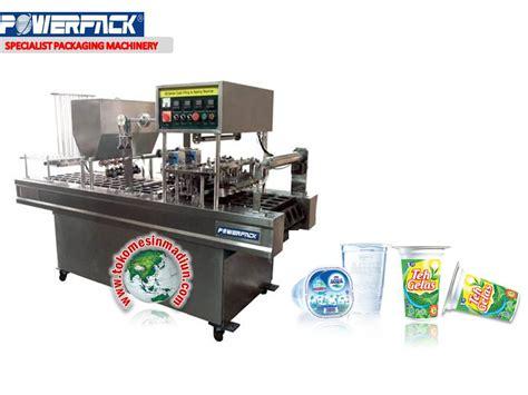 Alat Press Gelas Plastik Otomatis mesin press minuman gelas otomatis toko mesin madiun