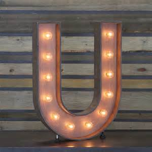 Acrylic Chandeliers Edison Marquee Letter Quot U Quot Town Amp Country Event Rentals