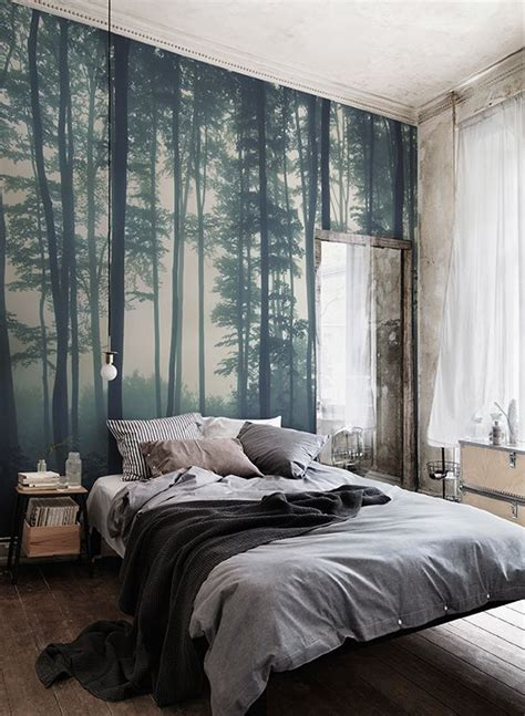 Bedroom Tree Plants 25 Best Ideas About Forest Wallpaper On