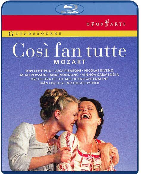 mozart cosi fan tutte mozart cos 236 fan tutte disc glyndebourne shop