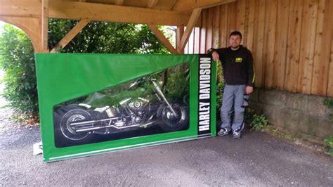Motorradgarage Harley planen kr 228 mer motorradgaragen