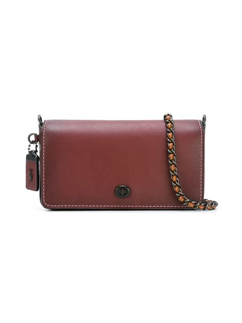 Coach Dinky Bag coach small dinky crossbody bag in lyst