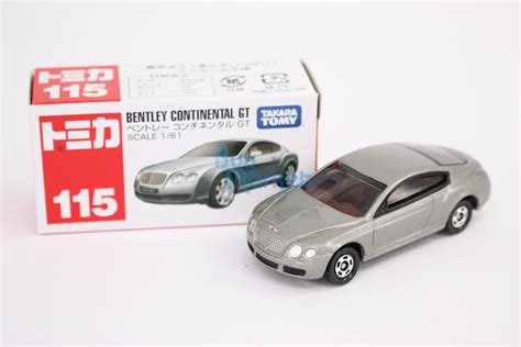 Diecast Tomica Original Bentley Continental Gt takara tomy tomica 115 bentley continental gt black 1 61 diecast toys car ebay