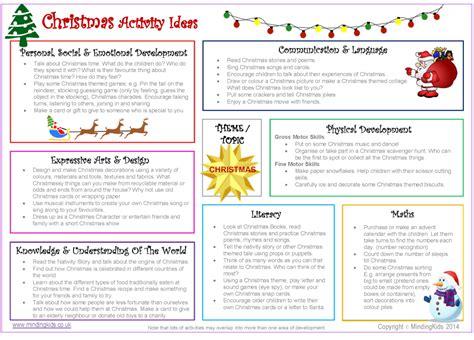 activity ideas activity ideas sheet mindingkids