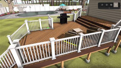 decks design deck designer deck design tool timbertech