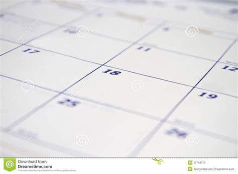 Calendar Background Images Calendar Background Stock Photo Image 17748710