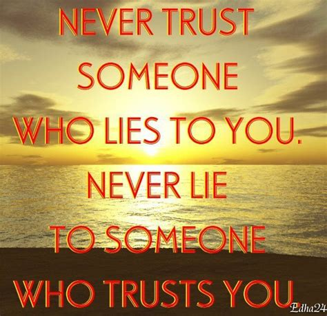 NEVER TRUST SOMEONE WHO LIES TO YOU | The Real Face Behind ...