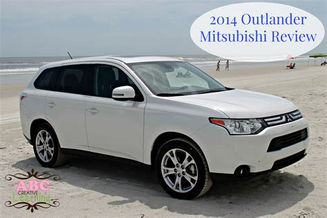 mitsubishi suv 2014 the 2014 mitsubishi outlander se suv family review plus