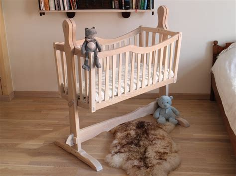 Handmade Wooden Crib - handcrafted furniture handmade
