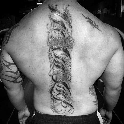 spine tattoos for men 75 spine tattoos for masculine ink design ideas