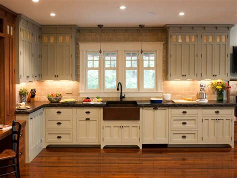 style of kitchen cabinets craftsman style kitchen cabinets arts and crafts kitchen