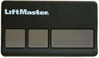liftmaster 83lm sears craftsman 3 button garage door