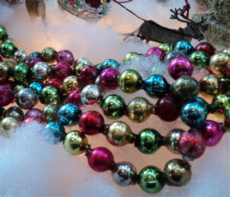 glass bead garland 28 best glass tree garland vintage multi