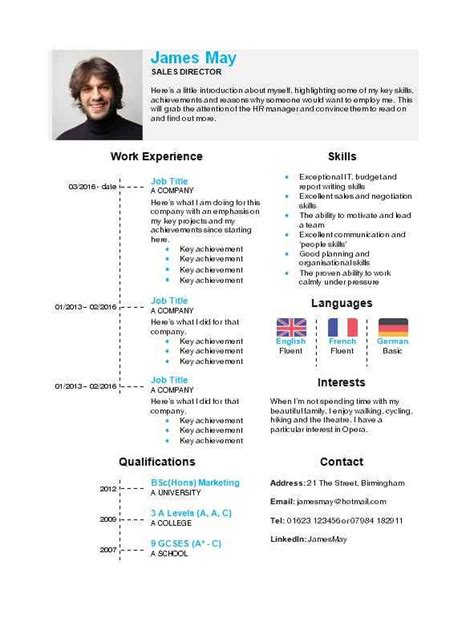 Cv Template Word by Timeline Cv Template In Microsoft Word How To Write A Cv