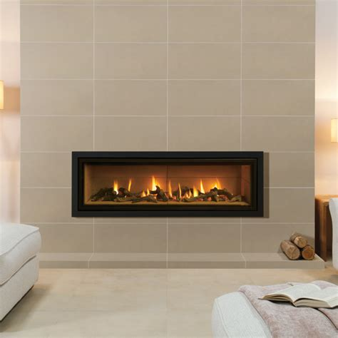 Vermiculite Fireplace by Gazco Studio 3 Profil Gas Stanningley Firesides