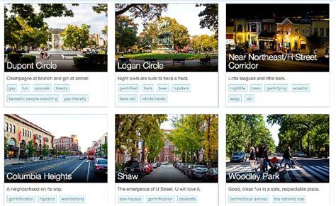 airbnb neighborhoods airbnb launches neighborhoods in dc