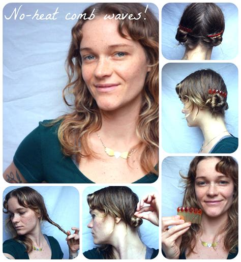 diy hairstyles without heat how to hair girl no heat waves archives