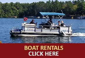 boat rental cable wi home lake owen