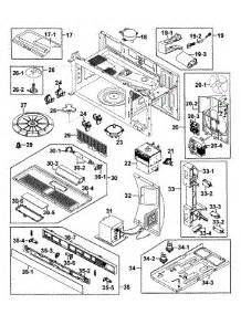 samsung microwave parts diagram parts for samsung smh7187stg xaa 0000 microwave