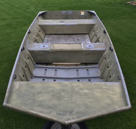 duck boat repaint upgrade trap shooters forum - Jon Boat Upgrades