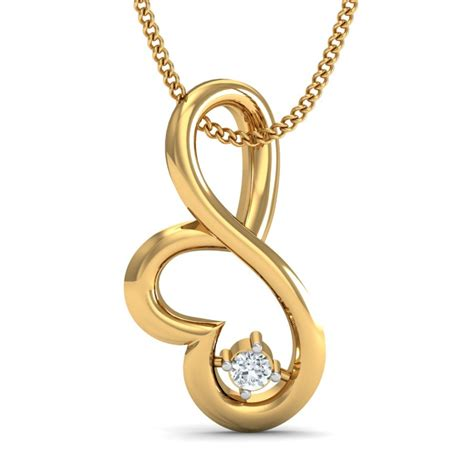 buy gold pendants in india at best price with