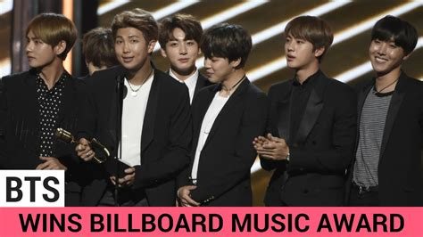bts awards bts wins big at the billboard music awards 2017 youtube