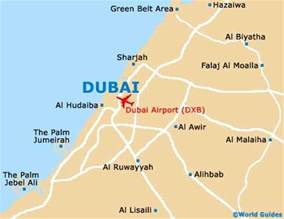 Dubai On World Map by Where Is Dubai Located On The World Map Images