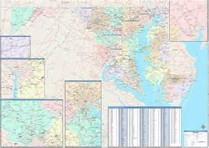 maryland dc zip code map