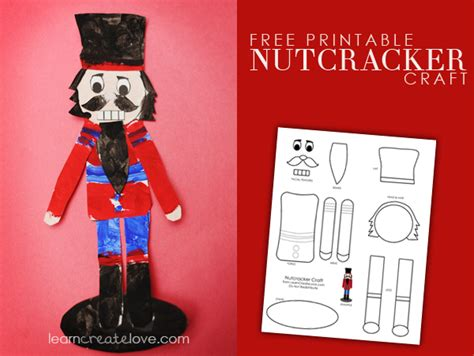 printable nutcracker ornaments printable nutcracker craft may be a little too much