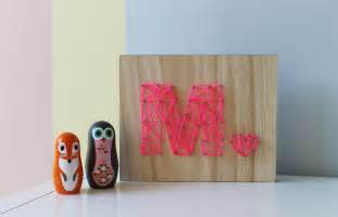 Idea with cute easy diy art of symbol name on the wooden board
