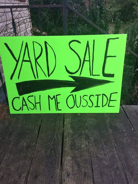 24 best yard sale signs and printables images on pinterest yard
