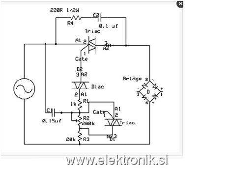 Sparepart Elektronik Ne 592 Ni4 www elektronik si poglej temo regulator moči transformatorja elektronski variak