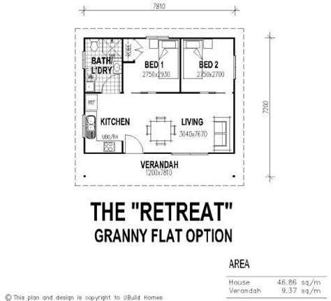 floor plans for granny flats 2 bedroom guest house floor plans beautiful 2 bedroom granny flat new home plans design