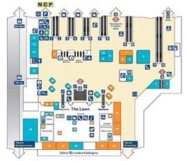 Paddington Station Floor Plan by Plan Of London Paddington Flickr Photo Sharing