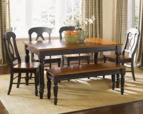 Dining Room Sets Black by Liberty Furniture Low Country Black 6 Piece 76x38