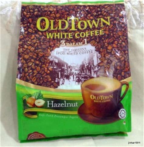 Town White Coffee 3 In 1 Hazelnut 1 bag 15 sachets oldtown town white coffee 3 in 1 hazelnut free shipping