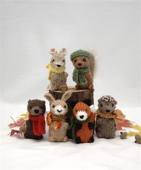 how to knit tiny animals 1000 ideas about forest friends on woodland